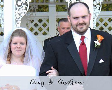 Fall Wedding Amy & Andrew: Orange & Red in The Woodlands of Van Buren Romulus
