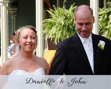 Summer Wedding Danielle & John: Yellow & Blue in Millrace Northville