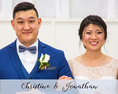 Spring Wedding Christine & Jonathan: Navy Blue & Blush in Livonia