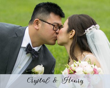 Fall Wedding Crystal & Henry: Champagne & Blush in Tina's