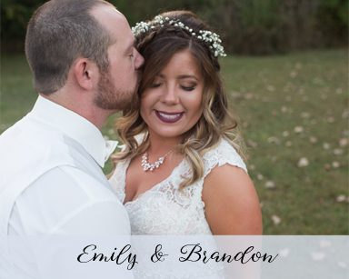 Fall Wedding Emily & Brandon: Burgundy & Rose Gold