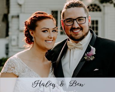 Fall Wedding Haley & Ben: Purple in Waldenwoods Resort Howell