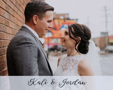 Fall Wedding Kali & Jordan: Burgundy & Black in Detroit