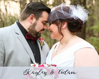 Winter Wedding Kayley & Adam: Burgundy in Farmington Hills
