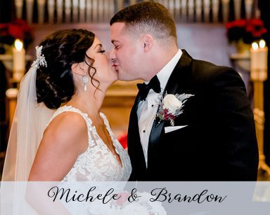 Winter Wedding Michele & Brandon: Silver in The Inn at St. John's Northville