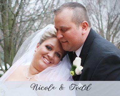 Spring Wedding Nicole & Todd: Black & Red in Burton Manor Livonia