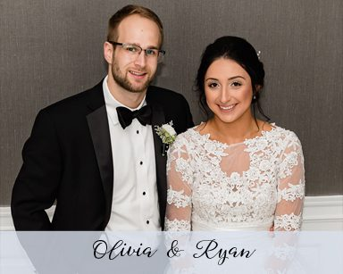 Fall Wedding Olivia & Ryan: Black & White in Dearborn