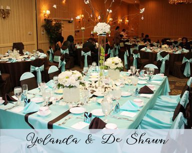 Fall Wedding Yolanda & DeShawn: Lagoon & Brown in St. Regis Hotel Detroit