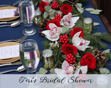 Teri Bridal Shower: Livonia, Michigan