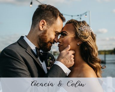 Fall Wedding Acacia & Colin: Rose Gold in Detroit